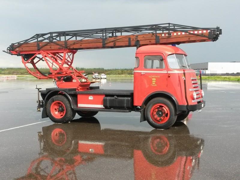 Merk: DAFType: A40Type voertuig: LadderwagenBouwjaar: 1950Standplaats: Cuijk