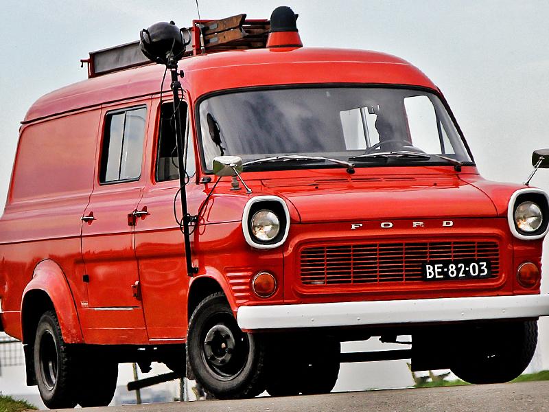 Merk: FordType: Transit Mk1Type voertuig: TankautospuitBouwjaar: 1971Standplaats: Nieuw-Lekkerland
