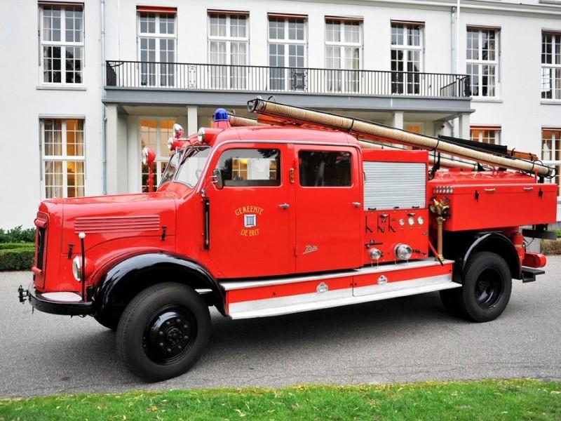 Merk: Mercedes-BenzType: LA 3500Type voertuig: Bosbrand voertuigBouwjaar: 1953Standplaats: De Bilt