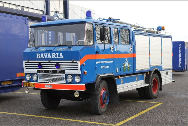 Fire Truck - Bavaria 1973