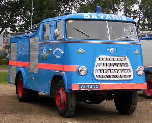 Fire Truck - Bavaria 1962