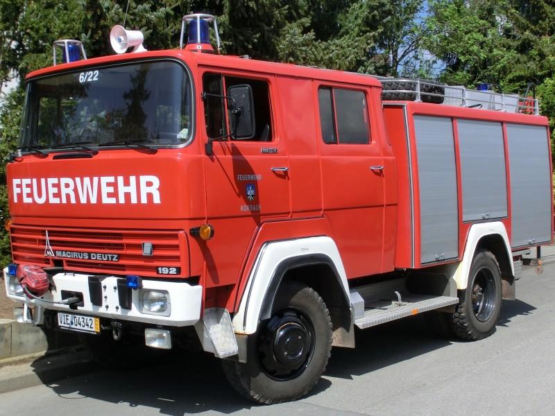 Fire Truck - Magirus-Deutz FM192D11FA