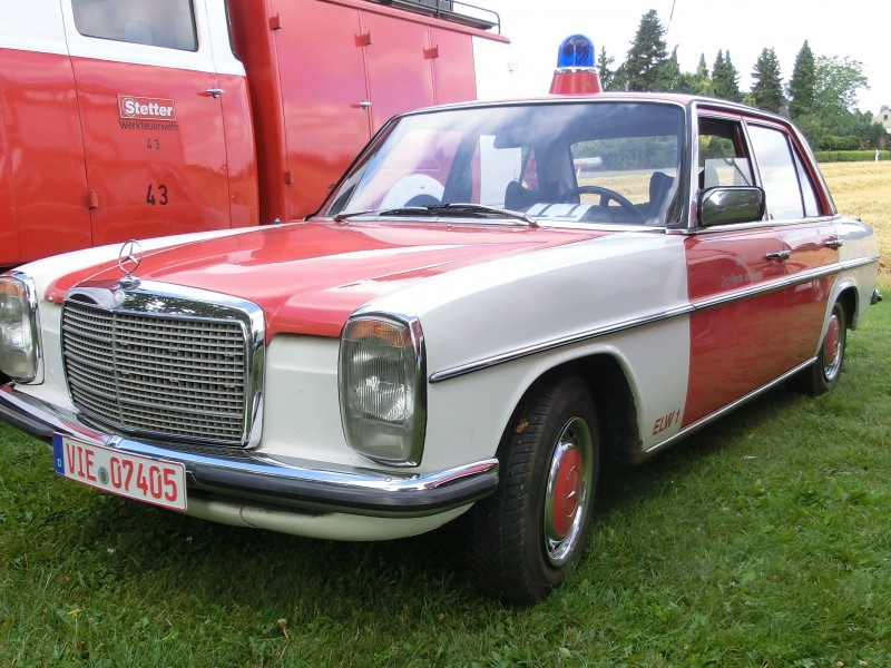Merk: Daimler BenzType: W 115Type voertuig: supportwagenBouwjaar: 1973Standplaats: Kempen (DE)