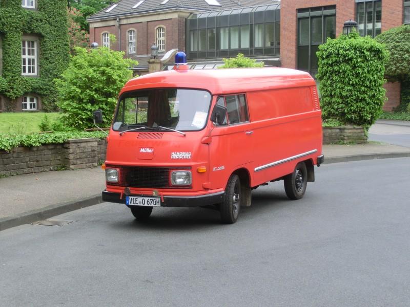 Merk: HanomagType: Matador E 1,3 KAType voertuig: BrandweerautoBouwjaar: 1970Standplaats: Kempen (DE)