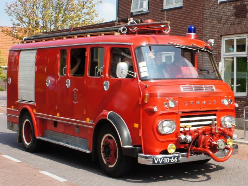Merk: CommerType: VAK641Type voertuig: TankautospuitBouwjaar: 1966Standplaats: Oostzaan