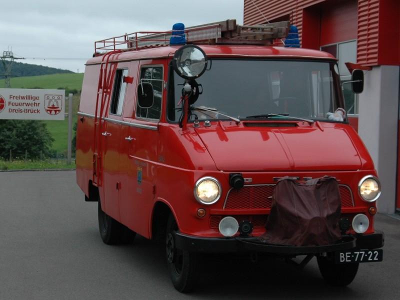 Merk: OpelType: BlitzType voertuig: TankautospuitBouwjaar: 1964Standplaats: Hulst