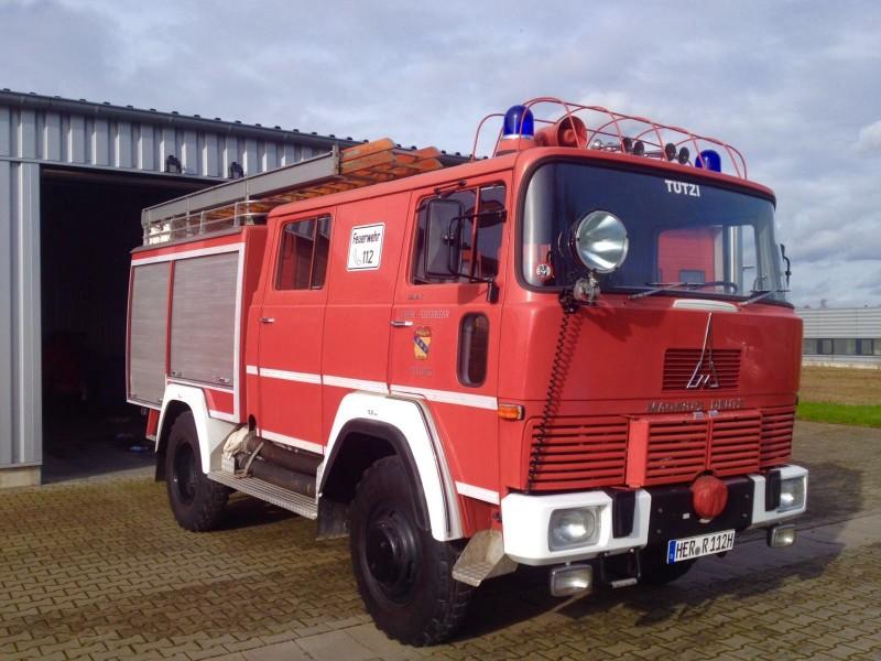 Merk: Magirus DeutzType: 110D7 FAType voertuig: TankautospuitBouwjaar: 1971Standplaats: Datteln (DE)