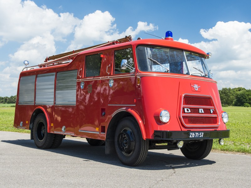 Merk: DAF Type: A1300BA360 Type voertuig: Tankautospuit Bouwjaar: 1965 Standplaats: Gilze-Rijen