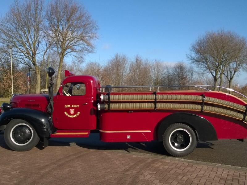 Merk: DodgeType: Type voertuig: brandweerautorBouwjaar: 1947Standplaats: Echt