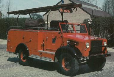 Merk: BedfordType: Type voertuig: brandweer voertuig Bouwjaar: 1943Standplaats: Liempde