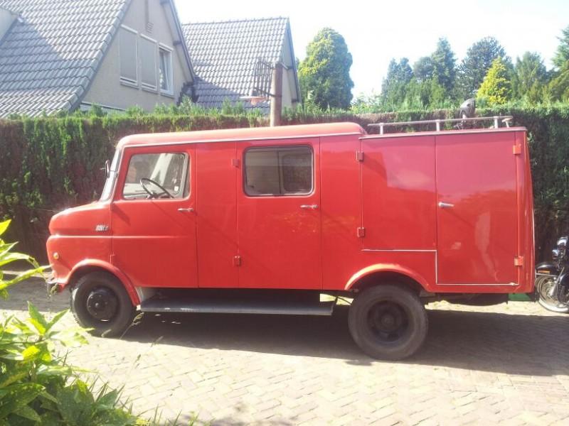 Merk: OpelType: BlitzType voertuig: manschappenautoBouwjaar: 1972Standplaats: Den Dungen