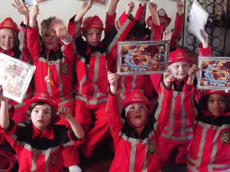 Brandweerman voor 1 dag!