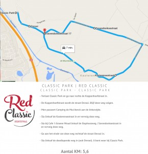 Red Classic - route